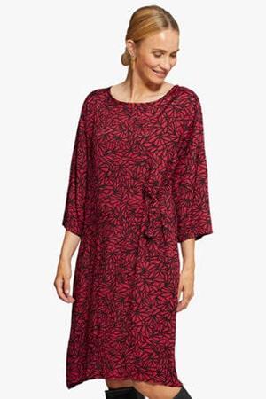 masai-jurk-print-rood